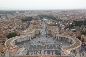Easter in Rome, peter's dome