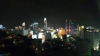 night view of hcmc