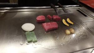 kobe beef teppanyaki