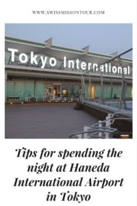 sleeping at airports haneda