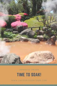 relax at a japanese onsen